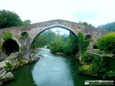 Descenso Sella - Lagos de Covadonga; excursiones de senderismo; viajes de verano;viajes exclusivos